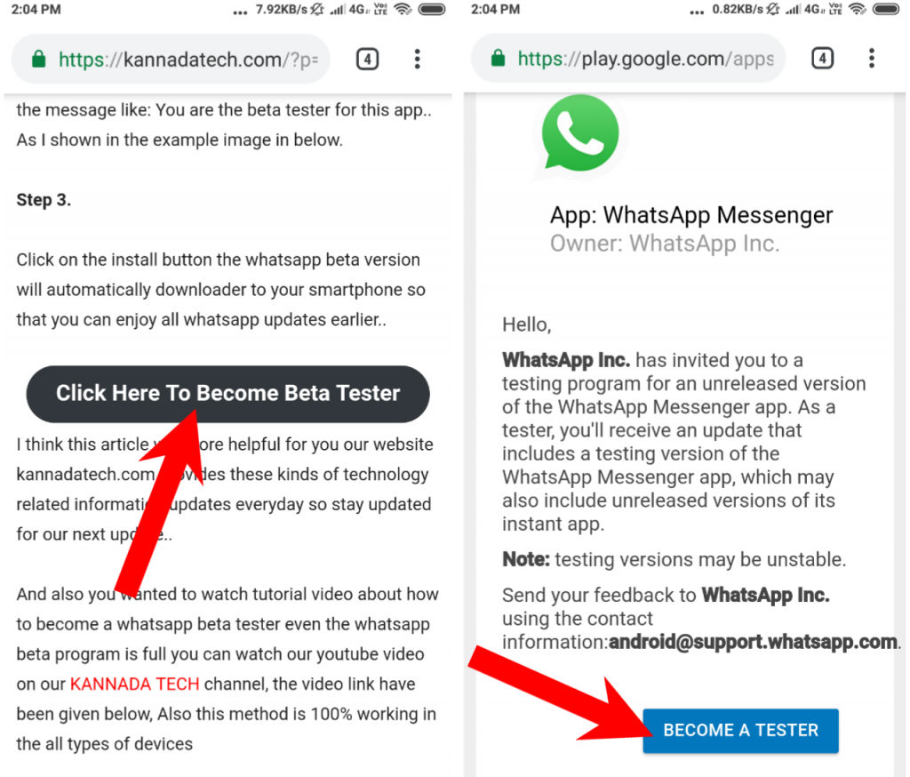 How to join WhatsApp beta tester program officially? Even beta program is full 100% working whatsapp tips With Step By Step Pictures News How To Solve Whatsapp Beta Program is Full How To Solve Whatsapp Beta Program is Full, how to update whatsapp beta, how to update whatsapp beta version, shakir tech, update whatsapp 2018, whatsapp beta, whatsapp beta tester, whatsapp beta tester full, whatsapp beta version, Whatsapp new update 2018  Kannada Tech
