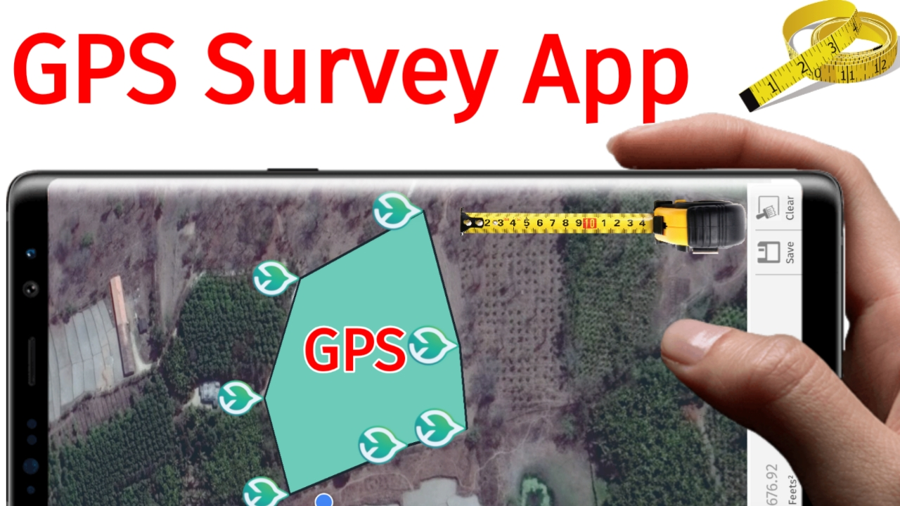GPS Survey App - Surveying With Android Smartphone Application