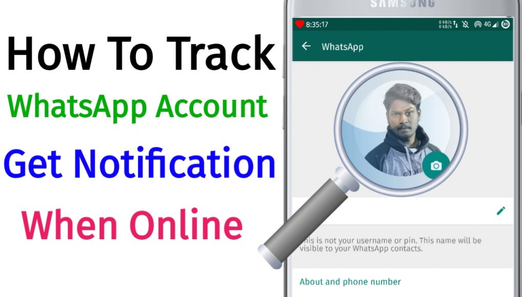 How To Track Any Person Whatsapp Accounts And Full Day