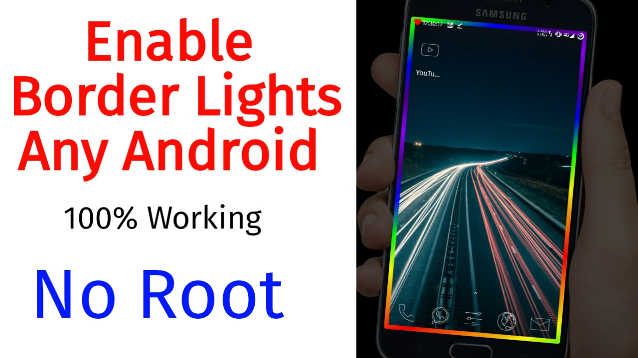 How to Set Rainbow Border Light On Any Android Smartphone ? No Root News Android border light Android border light, Border light app, border light application, Border light wallpaper, Border line, edge mask pro application download, How to set border light on any android, How to set lights android, Set border light on Realme mobile, Set border light on Redmi phones, without root  Kannada Tech