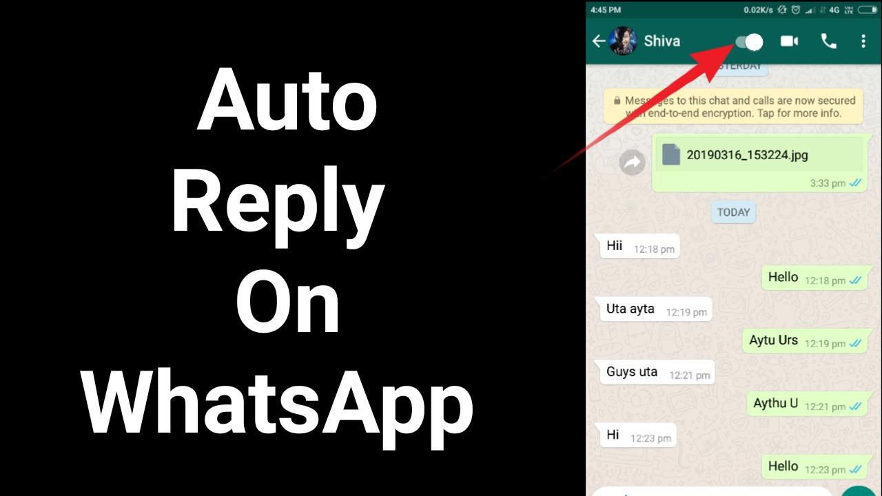 How to reply automatically WhatsApp messages - Amazing trick 2019 - Kannada Tech News    Kannada Tech