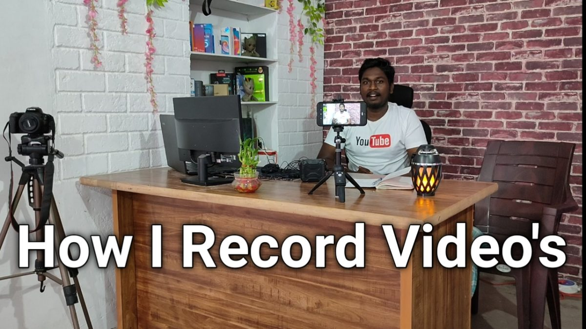 How I record videos for my YouTube Channel ? How to record videos for YouTube using smartphone? Kannada Tech