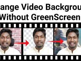 How to remove video backgrounds automatically without a green screen online