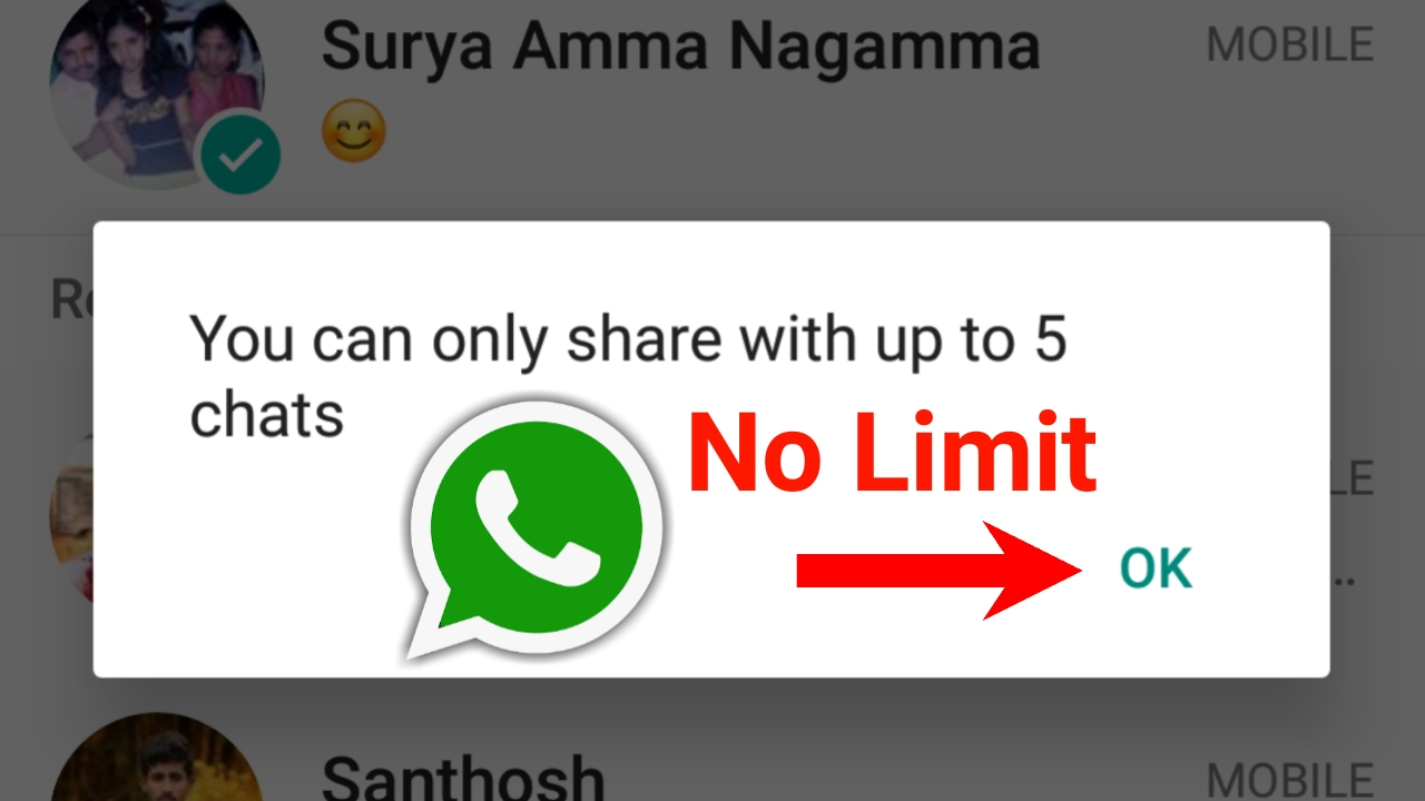 How to forward a message to more than 5 people using WhatsApp: In just 4 steps(with pictures)