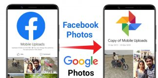 Transfer Facebook Photos to Google Photos, Facebook new feature, transfer photos from facebook to Google photos, copy images from facebook to Google photos, facebook photos to Google photos,news update,how to, transfer, facebook photos, Google, Google photos,