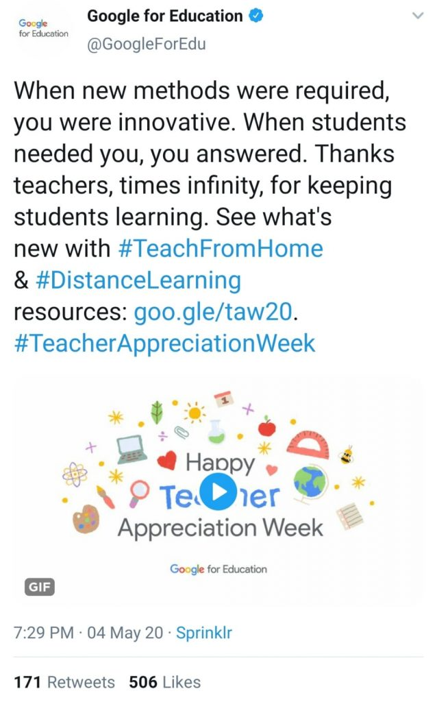 Teach from home, distance learning,teachers appreciation week, teachers appreciation doodle, teachers appreciation Google doodles,teach from home doodles,happy teachers appreciation week doodles,Google for education,Google news,free tools for Google education,