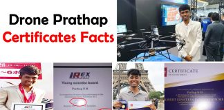 Drone Prathap certificates real or fake