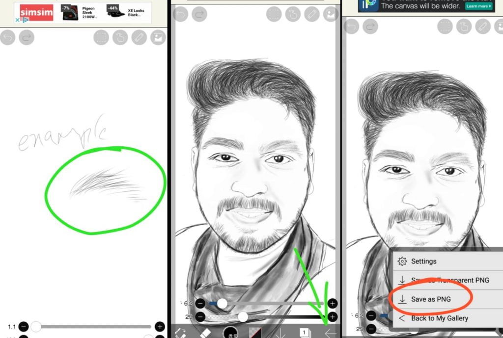 photo to sketch app