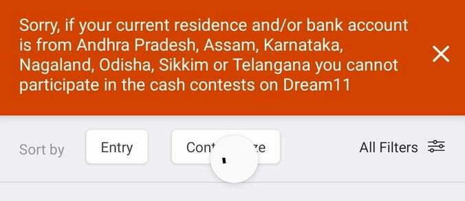Dream11 Ban in Karnataka, Dream11, Dream 11, Dream11 Ban,
